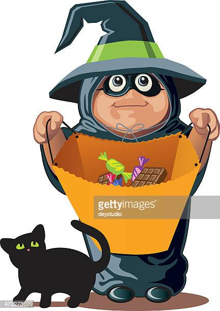 Candy please... Witch costume