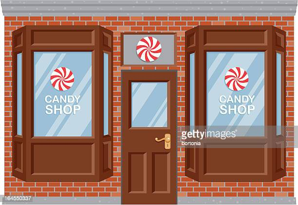 Sweet Shop Stock Illustrations And Cartoons Getty Images