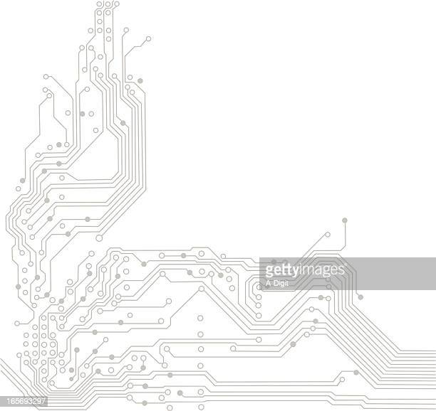 circuit board stock illustrations and cartoons
