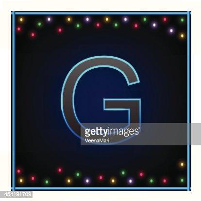 Capital letra G : Arte vectorial