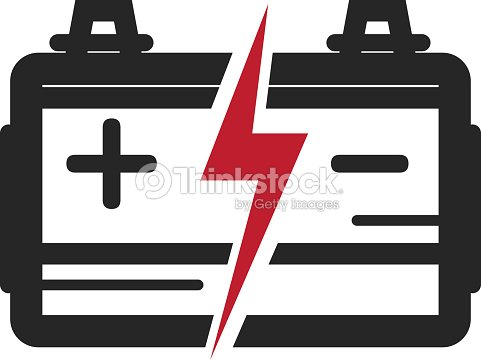Autobatteriesymbol Darstellung Vektorgrafik | Thinkstock