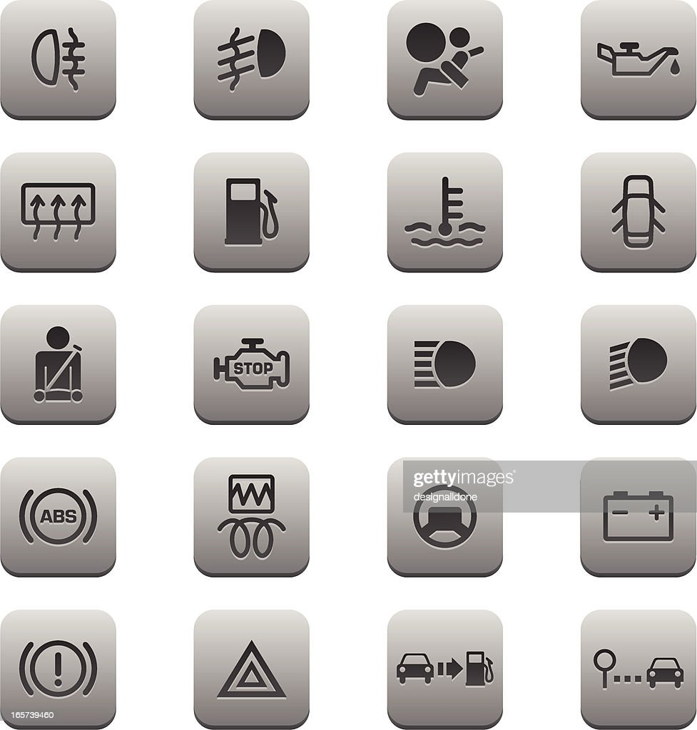 fuel on car dashboard icons fuel free engine image for