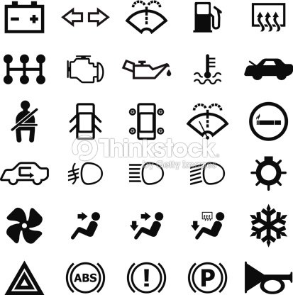 car indicator icon vector art thinkstock. Black Bedroom Furniture Sets. Home Design Ideas