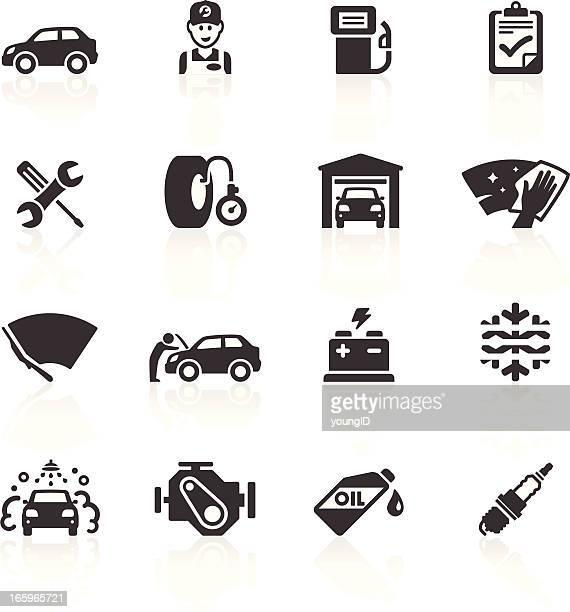 & iconos de cuidado de mantenimiento