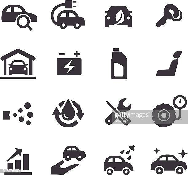 Car Maintenance Icons - Acme Series