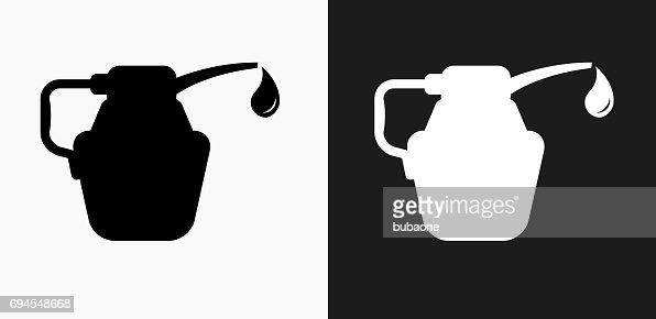 car water jug water bottle icon on black and white vector backgrounds vector art