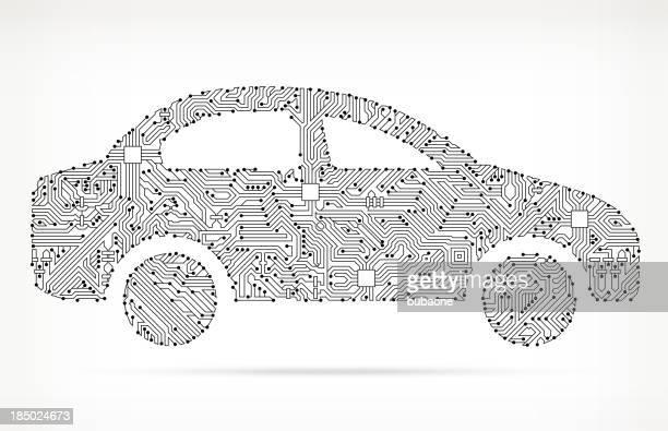 Car Side on Circuit Board