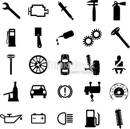 Car Symbols Vector Art Thinkstock