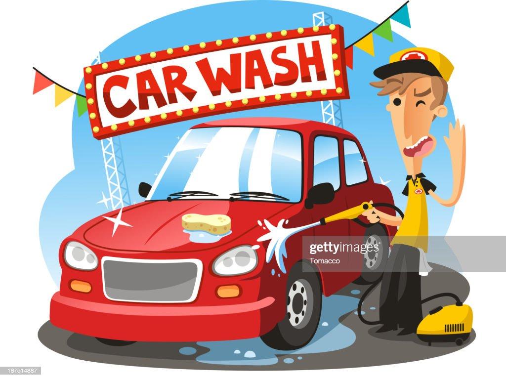 Vacuum Car Wash Signs
