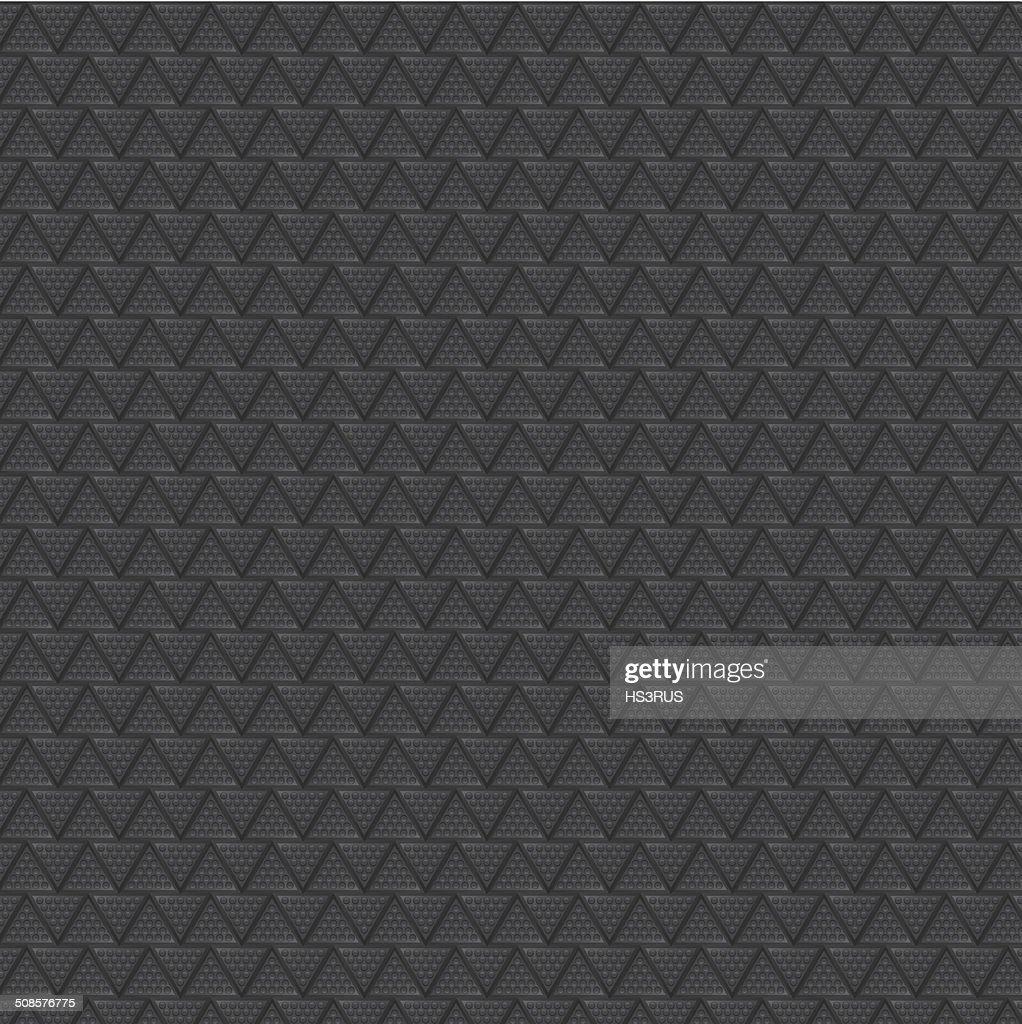 Carbon metallic vector background : Vector Art