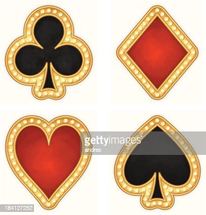 Hearts Playing Card Vector Art and Graphics   Getty Images