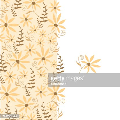 Card with peach flower : Vector Art
