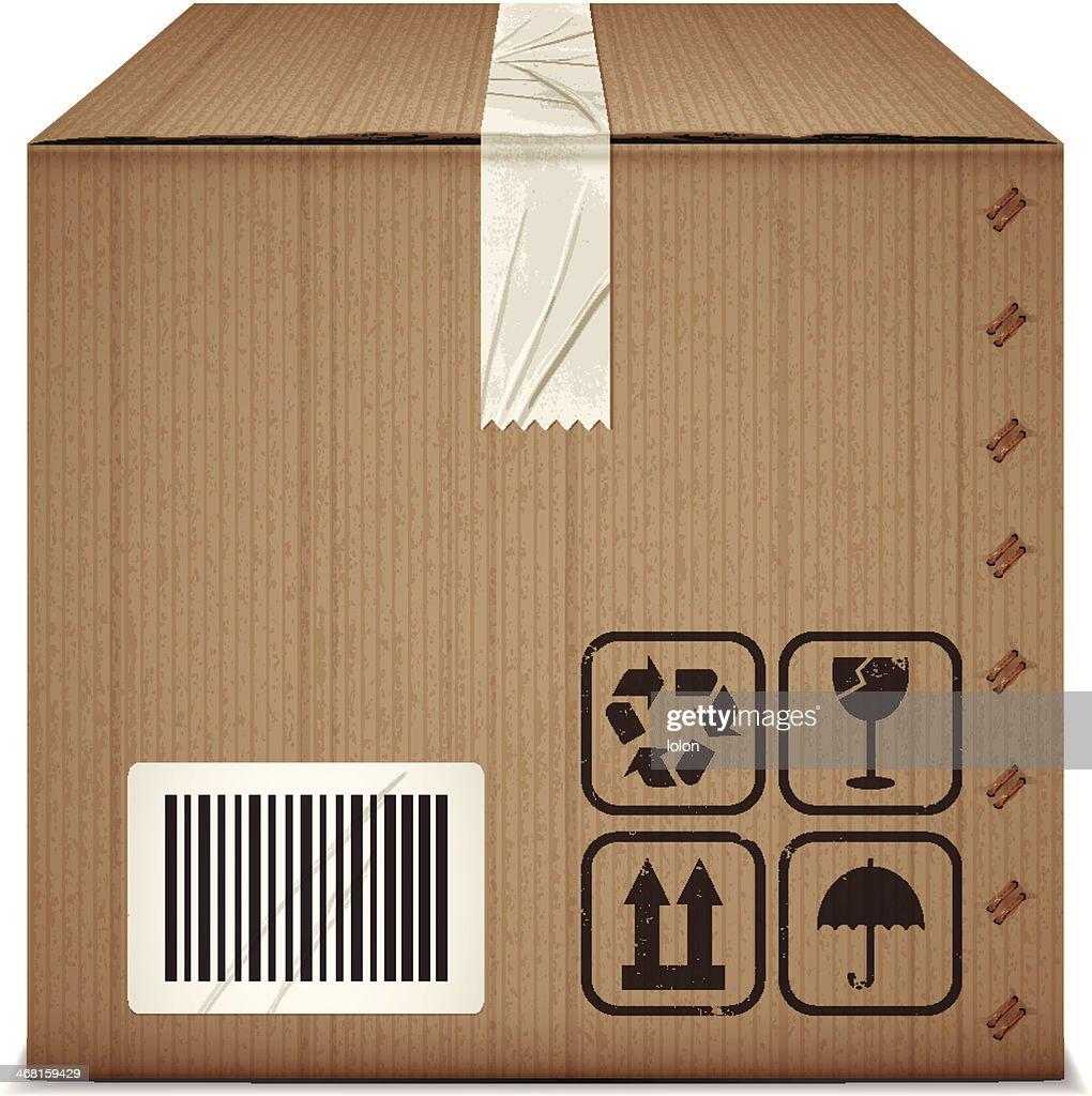 Cardboard Box With Tap...