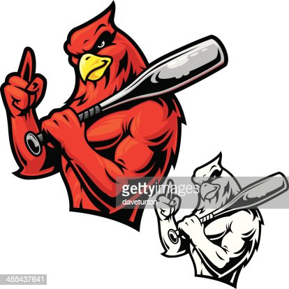 Cardinal Football Mascot