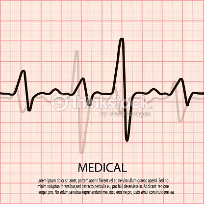 Cardiology concept with pulse rate diagram medical background with cardiology concept with pulse rate diagram medical background with heart cardiogram arte vetorial ccuart Image collections
