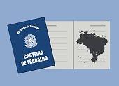 Brazilian work document, work permit