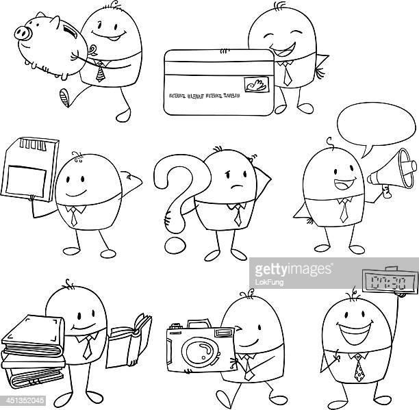 Man Wondering Drawing Stock Illustrations And Cartoons