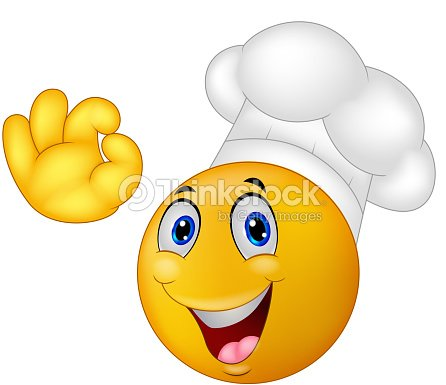chef cuisinier de dessin anim smiley moticon clipart vectoriel thinkstock. Black Bedroom Furniture Sets. Home Design Ideas