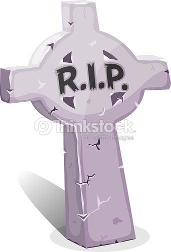 Dessin christian pierre tombale avec rip clipart vectoriel thinkstock - Pierre tombale dessin ...