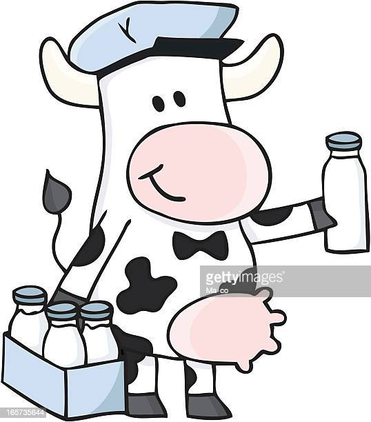 how to keep a cow giving milk