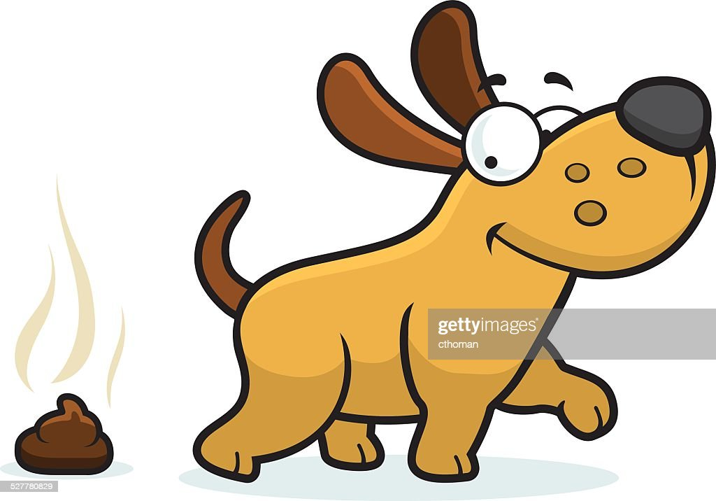cartoon dog poop vector art thinkstock rh thinkstockphotos ca  dog poop clipart images