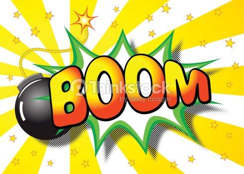 Dessin anim explosion avec le mot boom clipart vectoriel - Boom dessin anime ...