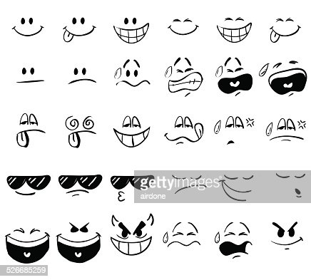 cartoon expressions vector art thinkstock