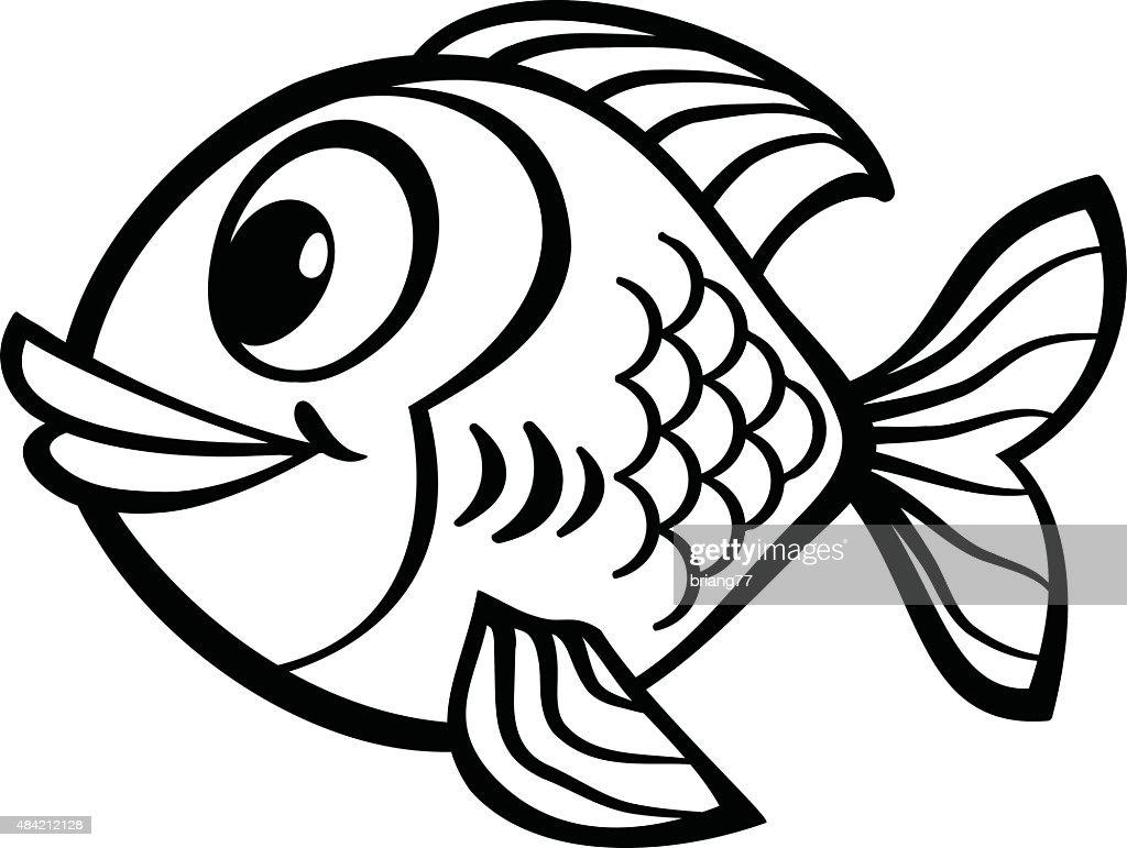 cartoon fish vector art thinkstock rh thinkstockphotos com clipart fish vector fish vector graphic