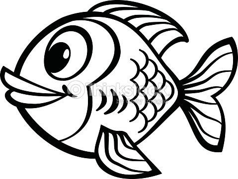 Cartoon Fish stock vector - Thinkstock