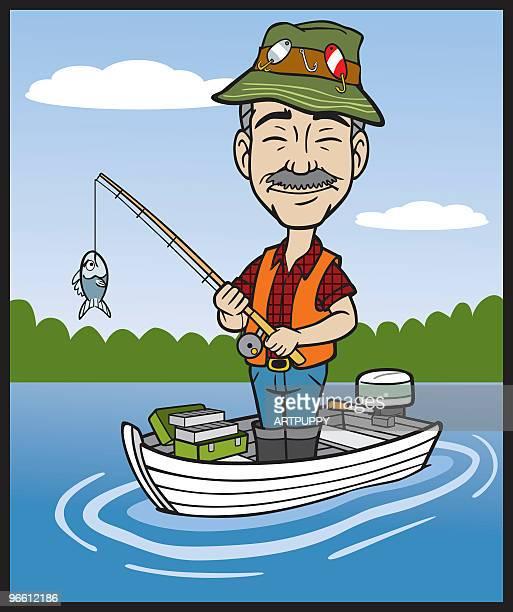 ImagesVideo漁師のイラスト素材と絵