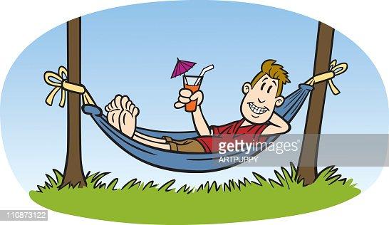 free clipart hammock cartoon - photo #24