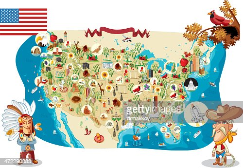 Washington State And Usa Infographic Map Vector Art Getty Images - Map if the usa