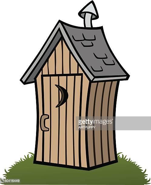 Cartoon Outhouse
