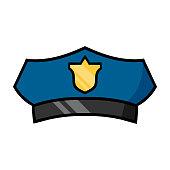 Cartoon Police Hat