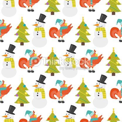 86f5309eddaf6 Gallo sin fisuras patrón vector ilustración pollo granja Navidad  agricultura animal doméstico personaje de dibujos animados