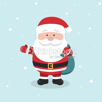 Cartoon santa claus for your christmas and new year greeting design cartoon santa claus for your christmas and new year greeting design or animation vector m4hsunfo