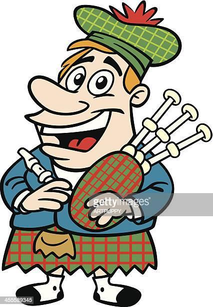 Cartoon Scotsman