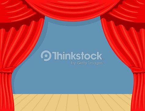 dessin theater et th tre rideau de sc ne spectacle stock vecteur clipart vectoriel thinkstock. Black Bedroom Furniture Sets. Home Design Ideas