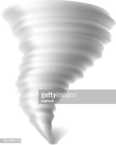 Tornado : Clipart vectoriel