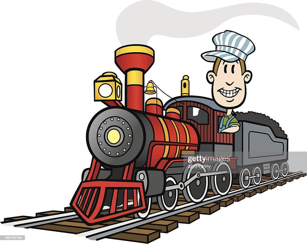 cartoon train vector art getty images