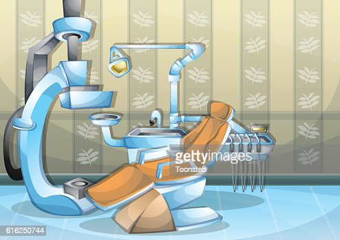 cartoon vector illustration interior surgery operation room with separated layers : Arte vetorial