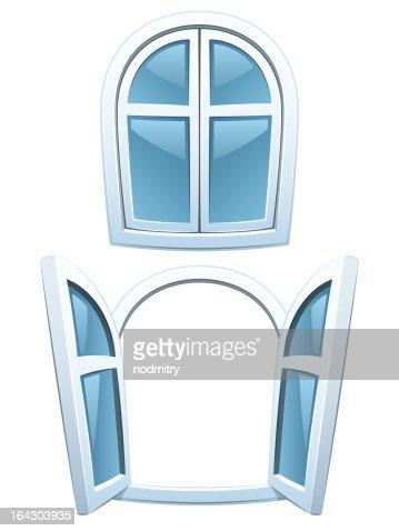 Fenster schließen clipart  Comic Fenster Vektorgrafik | Thinkstock