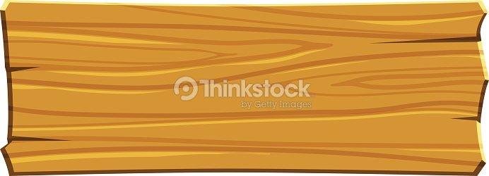 Cartoon Wood Board ~ Cartoon wood board vector art thinkstock