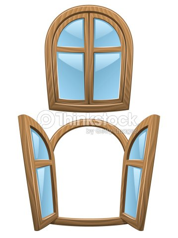 Fenster schlie en clipart for Window design cartoon