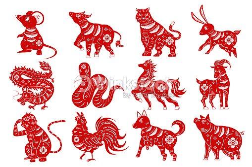 cartoon zodiac silhouette : stock vector