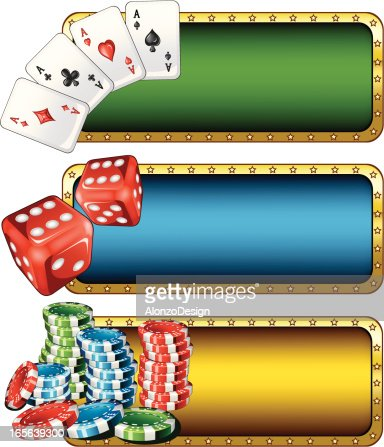 Casino Banners : Vector Art