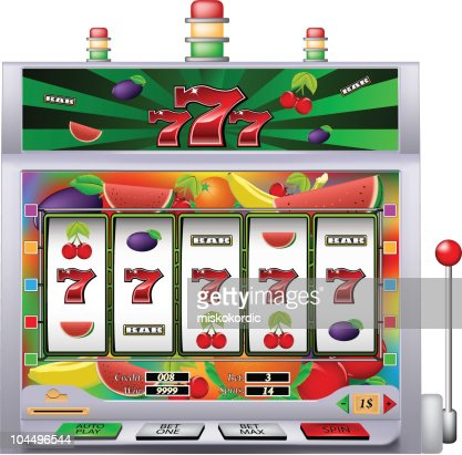 Indische slot machine vector