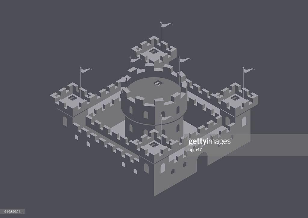 castle : Vector Art