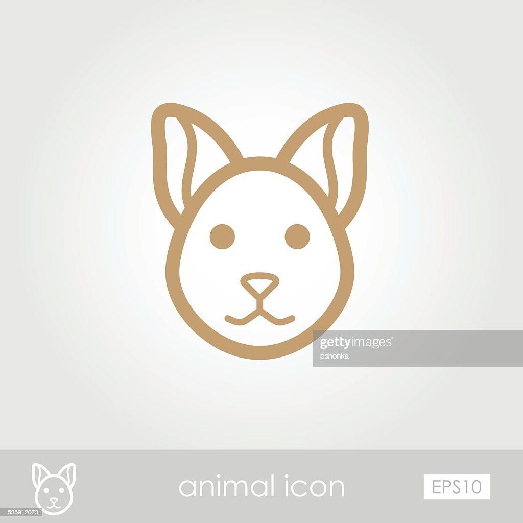 Cat icon : Vector Art