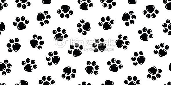 Vector De Dibujos Animados Pata De Perro La Pata De Gato
